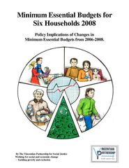 Mininum Essential Budgets for Six Households